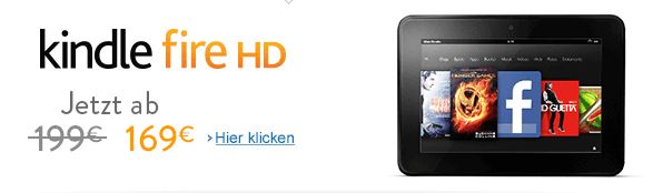Kindle Fire HD Tablet Angebot